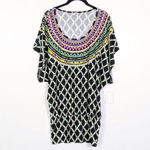 Trina Turk Kon Tiki Tunic Coverup Size M NWT